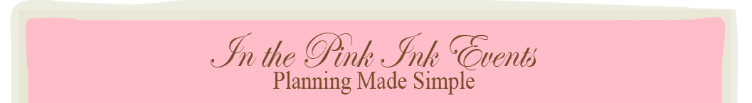 In the Pink Ink Events logo